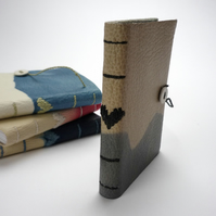 Small Heart Book - Indigo or Madder dyed