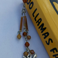 Stunning Beaded Llama Bookmark