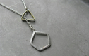 minimalist silver necklaces