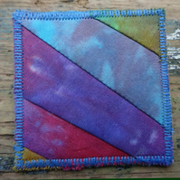 Patchwork Brooch 8