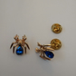 Pair of Spider Collar Pins..