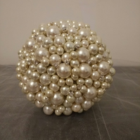 Ivory Pearl Bouquet... Bridesmaid Bouquet...