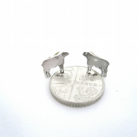 Sheep Earrings - Silver studs for Debbie A