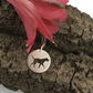 Dalmatian Necklace. Dog Sterling Silver Pendant hand sawn by artist maker.
