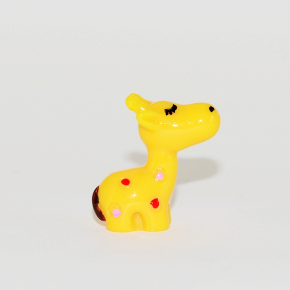 Giraffe Charm, Figurine, Mini Animal for crafting, terrarium decoration