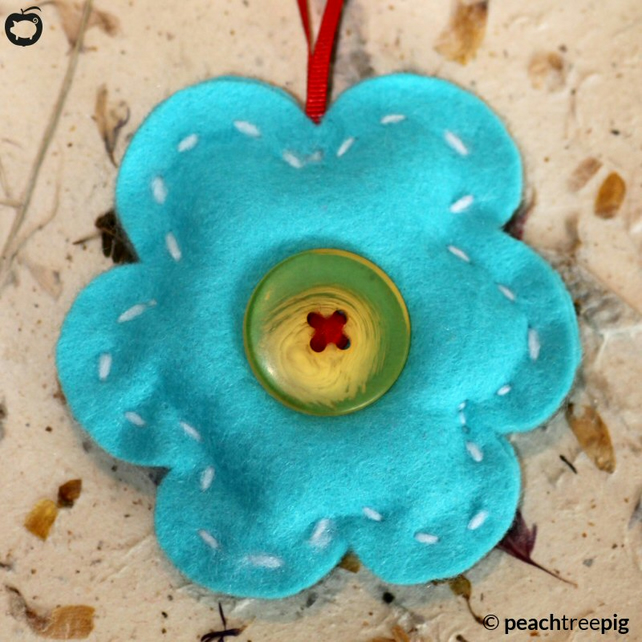 Turquoise Flower