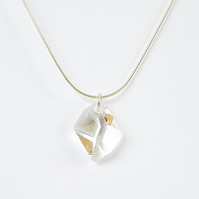 Swarovski Crystal Drop Pendant Necklace - Cosmic