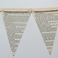Old Book Bunting