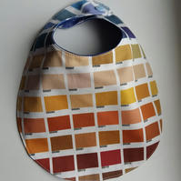 Baby Bib colour Block