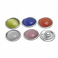 10 Pcs Opal Snap Button For Snap Button Bracelet Opal Beads Mixed