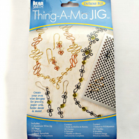 BeadSmith Deluxe Metal Wire Jig Kit - Jewellery Jig - Wirework Tool