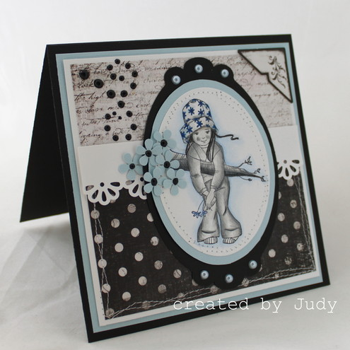 OOAK Luxury Handmade Greeting Card - Blank