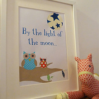 Framed Nursery Picture