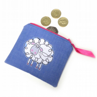 "Ladies Girls ""Sheep"" Coin Purse FREE SHIPPING"