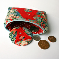 Personalised Coin Purse With Mirror