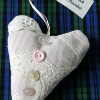 Heart-shaped Hanging Lavender Sachet