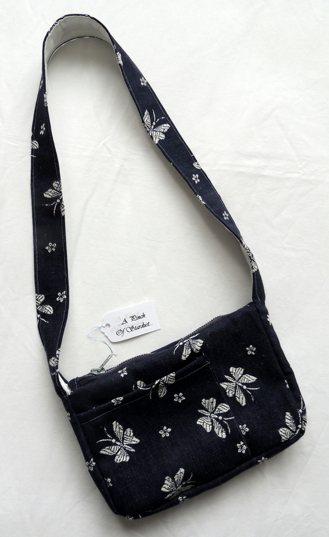 REDUCED Denim Shoulder Bag