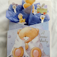 New Baby Birth Congratulations 3D Card