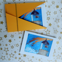 "Art Card - ""Chanonry Point Lighthouse"" Notecards (Set of 6)"