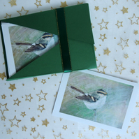 "Art Card - ""Blue Tit"" Notecards (Pack of 6)"