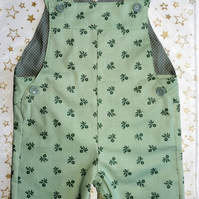 Dungaree Shorts to fit 3-6 Month Baby Boy or Girl