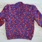 "Multi Coloured Child's Jumper to fit 22"" Chest Age approx 2-3 yrs."