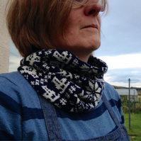 Sale! Fairisle Ice Skater Snood