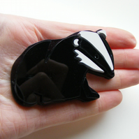 Badger Brooch - Limited Edition
