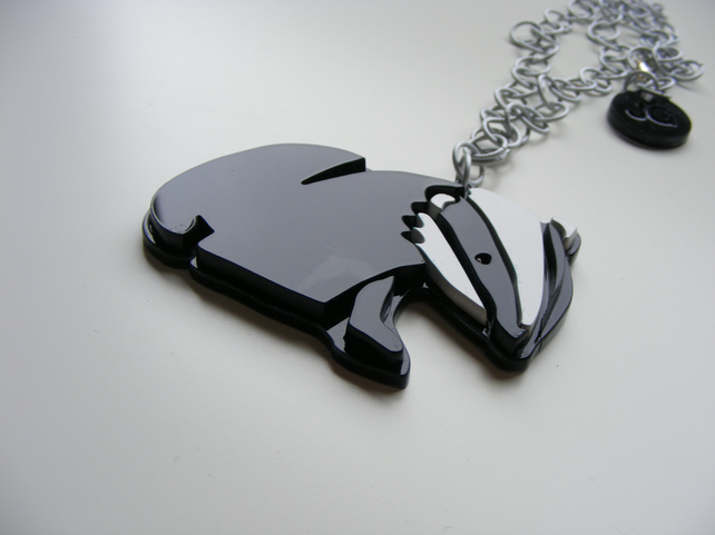 Badger Pendant - Limited Edition