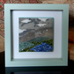 HANDMADE FUSED GLASS ON CERAMIC 'HIGHLAND COTTAGE' PICTURE