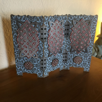 Mini Decorative Folding Screen