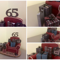 Miniature Presents and Gifts Armchair