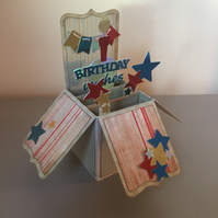 Exploding Box Pop Up Birthday Card