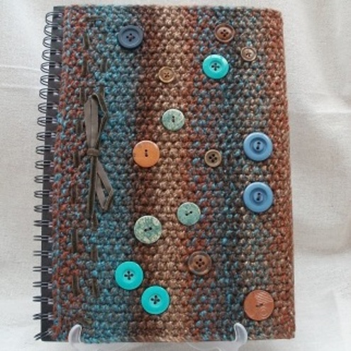 Knitted covered book (large)