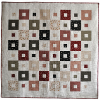 All Squared Up Quilt Kit in Ditsy Japanese Prints