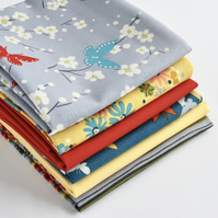 Quilter's Fabric Bundle in Michael Miller's Sea Holly