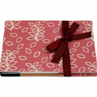 Dusky rose leaves note book