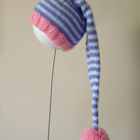 Stripy Stocking Hat