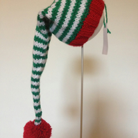 Stripy Stocking Hat First Size