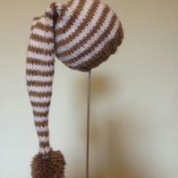 Stripy Stocking Hat, 12-18 months