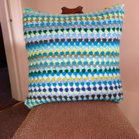 Granny Stripe Cushion