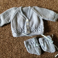 Knitted Dolls Set