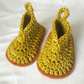 Crochet Baby Booties Size 0-6 Months