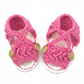 Crochet Baby Sandals, Baby Girl Sandals, Pink Baby Sandals, Crochet Baby Shoes