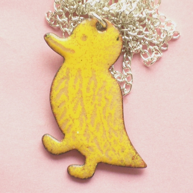 Large pendant - Yellow duck