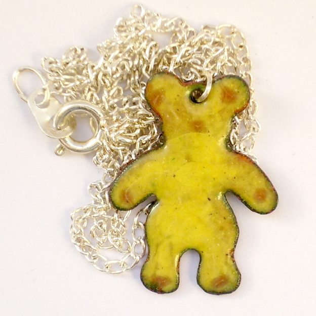 teddy bear pendant No.1