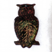 owl brooch No2