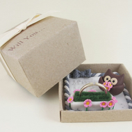 "Owl Engagment Ring Box ""Will You Marry Me?"""