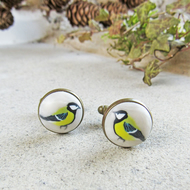 Great Tit Cufflinks