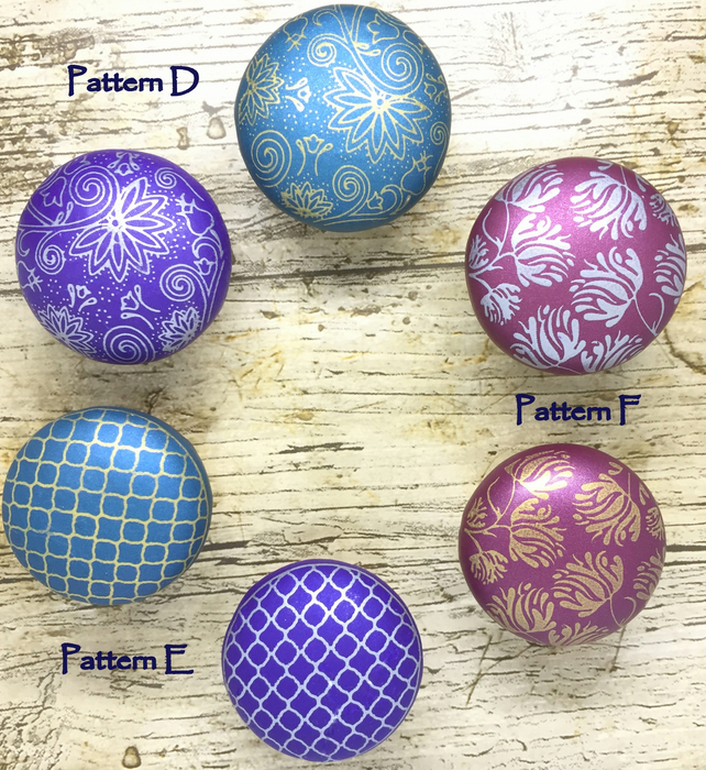 wooden drawer knobs, polymer clay covered